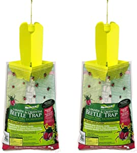Rescue - Disposable Non-Toxic Japanese/Oriental Beetle Trap (2 Pack)