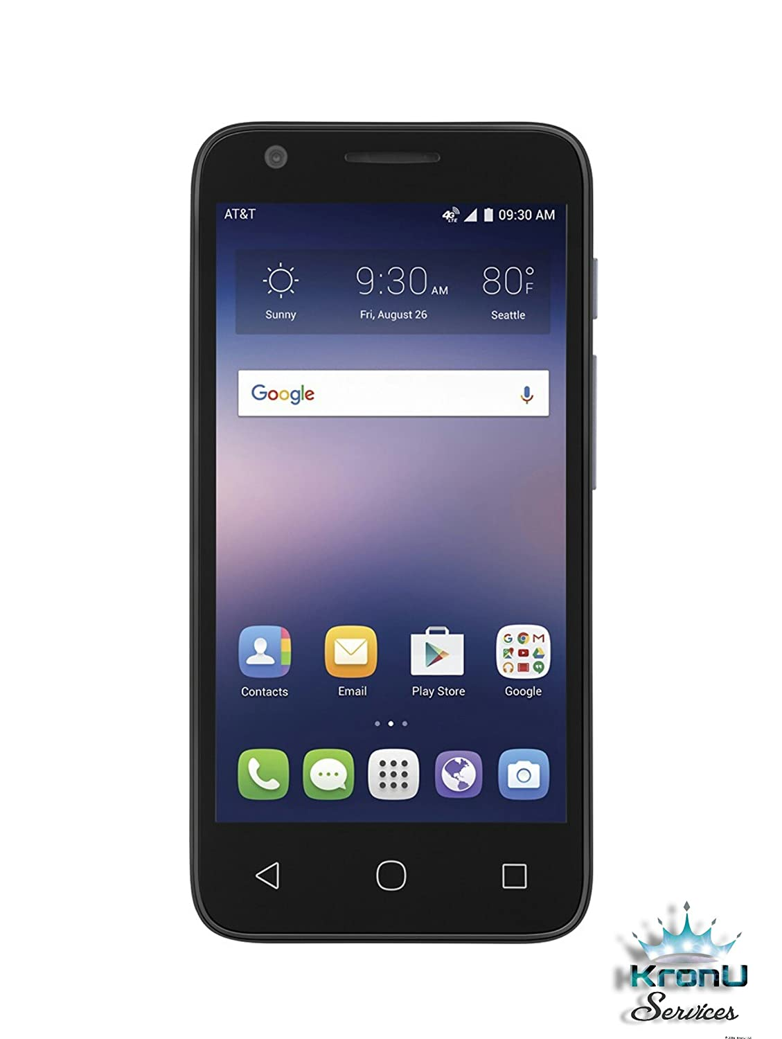 alcatel ideal 4060a 4g lte w 8gb memory factory unlocked cell phone ebay. Black Bedroom Furniture Sets. Home Design Ideas