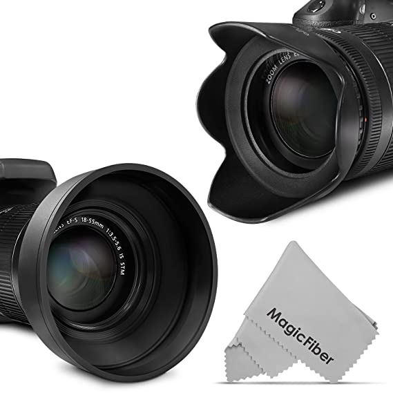 Review 58MM Lens Hood Set