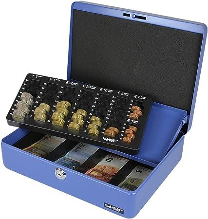 HMF 100155 Caja de caudales, bandeja para contar monedas 30,0 x 24 ...