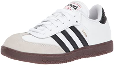 ef490dec3 Amazon.com | adidas Samba-Classic Soccer Shoe Black/White, 10.5 M US ...