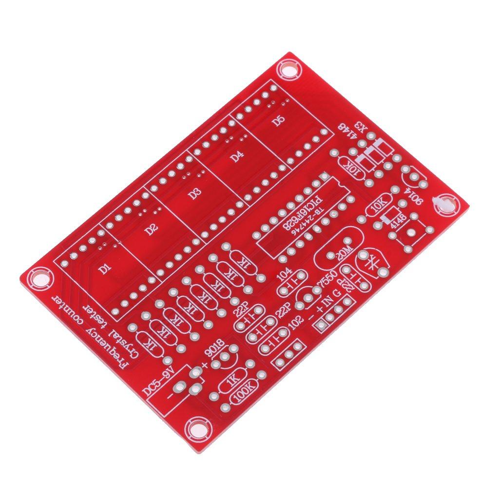 Baoblaze Compteur de Fr/équence Doscillateur Cristal R/ésolution de 5 Chiffres