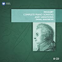 Mozart: Complete Piano Sonatas and Variations