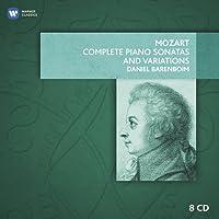 Mozart: Complete Piano Sonatas and Variations