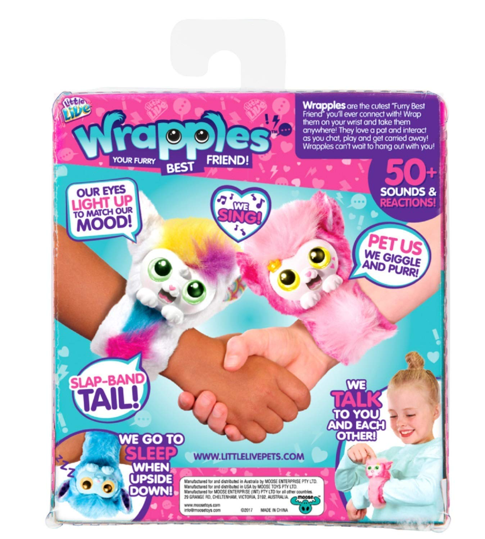 Mojimoto Little Live Wrapples – UNA, Sparkles My Dancing Unicorn, Unicorn Repeating Talk Back Toy 9