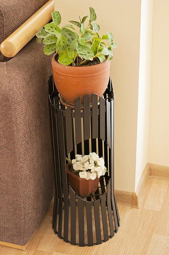 Blumensäule Albero 60 cm Blumenhocker Metall Blumentisch Blumenständer Hocker