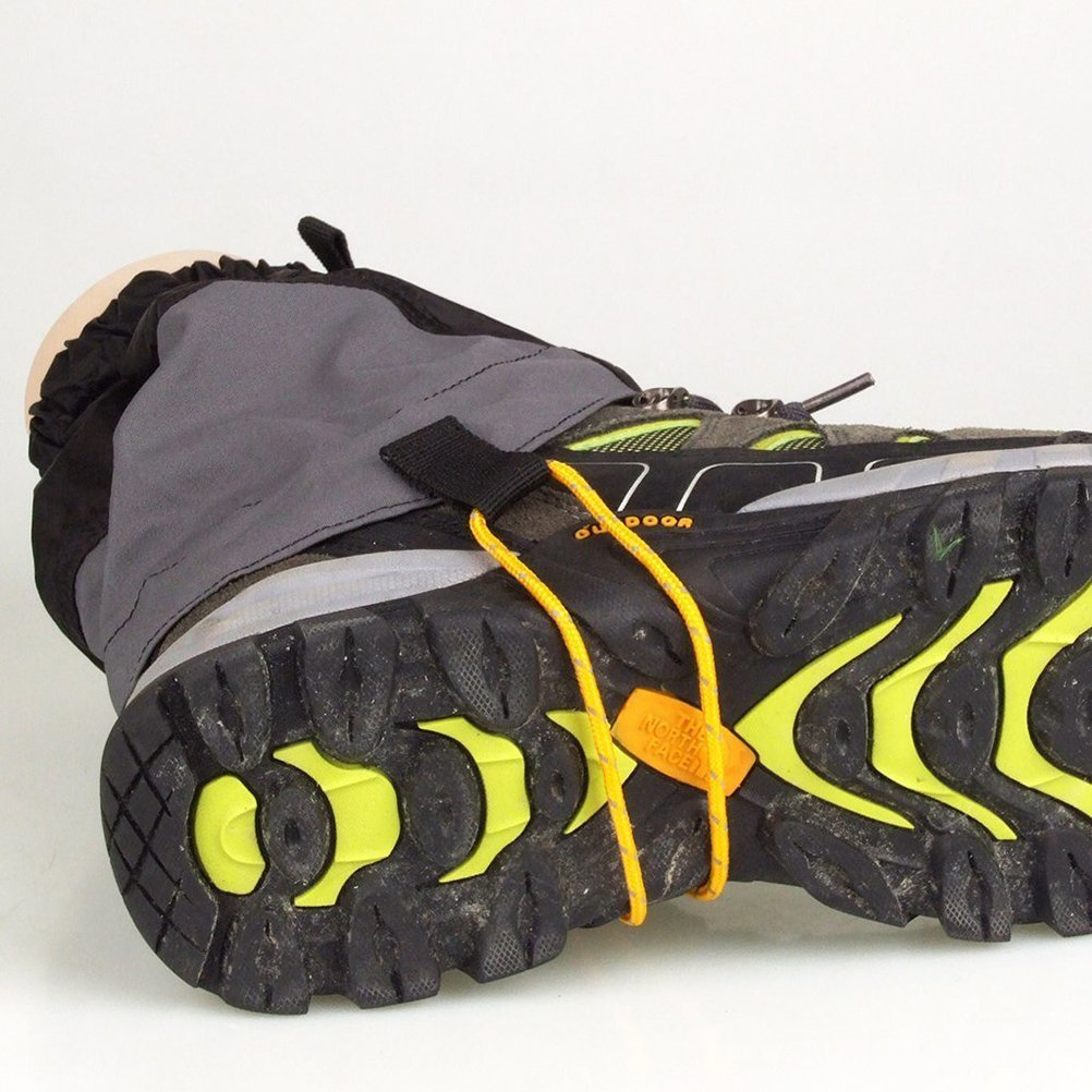 UHNT Outdoor Waterproof Essential Ankle Walking Gaiters (1 Pair) -Black by UHNT (Image #7)
