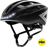 Resta visibile mentre vai in bicicletta sulle strade di notte legando questo casco da bicicletta Smart.