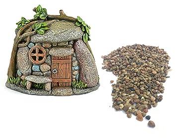Diy Miniatur Garten Kit Troll Haus Oder Gnome Home Mit Garten