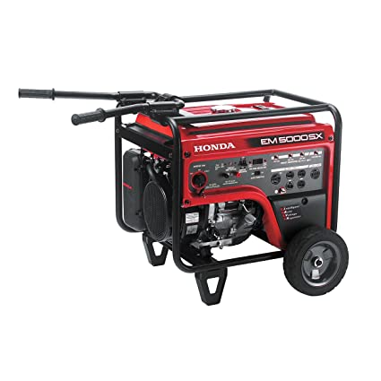 Amazon.com: Honda 660530 5,000 Watt Portable Generator w/ iAVR ...