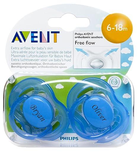 Regalos personalizados - Philips AVENT Chupete sin BPA ...