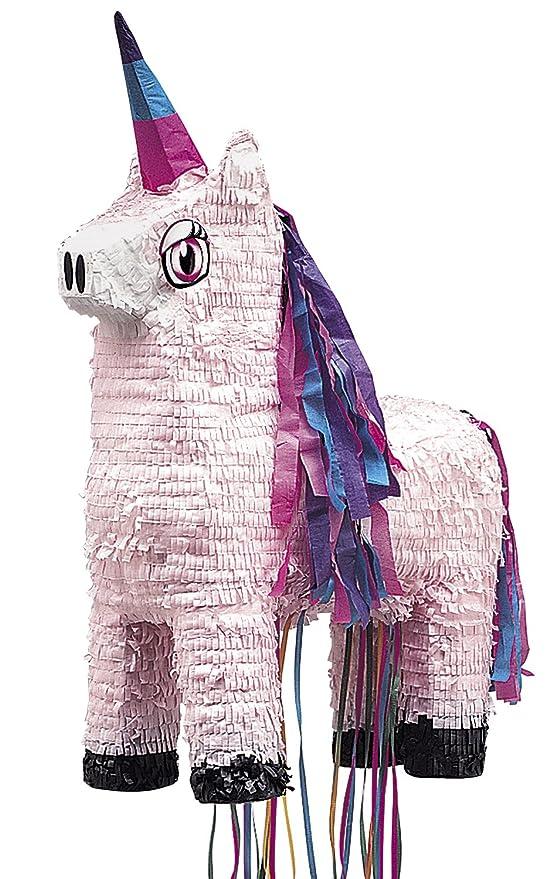 Unique Party- Piñata unicornio para tirar (66014)