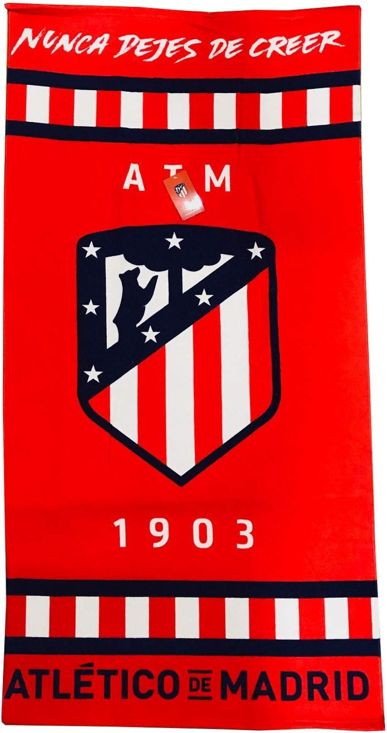 Atlético de Madrid Toalla Microfibra Baño Playa Atlético de Madrid ...