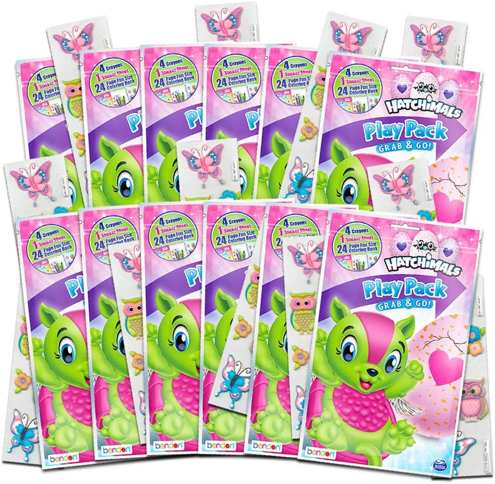 Amazon.com: Hatchimals Party Favors Pack ~ Bundle Of 12 Hatchimal