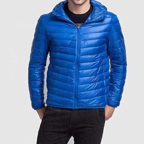 Amazon.com: Chaquetas de invierno ultraligeras con capucha ...