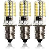 ZEEFO Lampadine LED E14, Regolabili 220V 4W Bianco Caldo 3000K, 72 elementi 4014 SMD Lampadine Risparmio Energetico (35W Alogene E14 Led Lampadine Equivalente) per la Casa, Adatte per Luce Plafoniera, Luce Lampadario Cristallo (Pacco da 3)