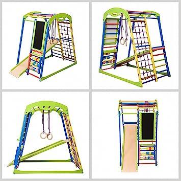 Kletteraffe Torre de Escalada Infantil Sport Esquina, niño ...