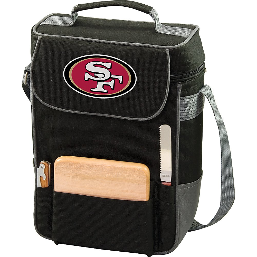 NFL Duet Insulated 2-Bottle Wine and Cheese Tote Picnic Time 623-04-175-204-2