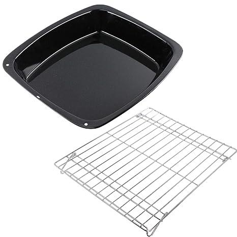 Spares2go Vitreous Esmalte para horno y estante base plegable para ...
