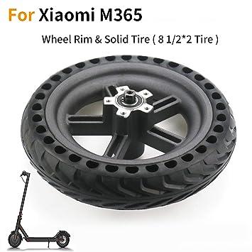 EMEBAY Neumáticos y Llantas sólida para Xiaomi M365 Scooter ...