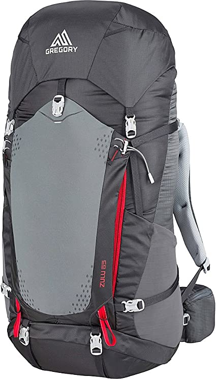 Gregory Mountain Products Zulu 65 Liter Mens Overnight Hiking Backpack