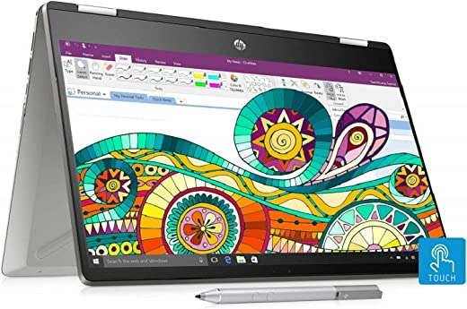 HP Pavilion x360 core i3 8th gen 14-inch Touchscreen 2-in-1...