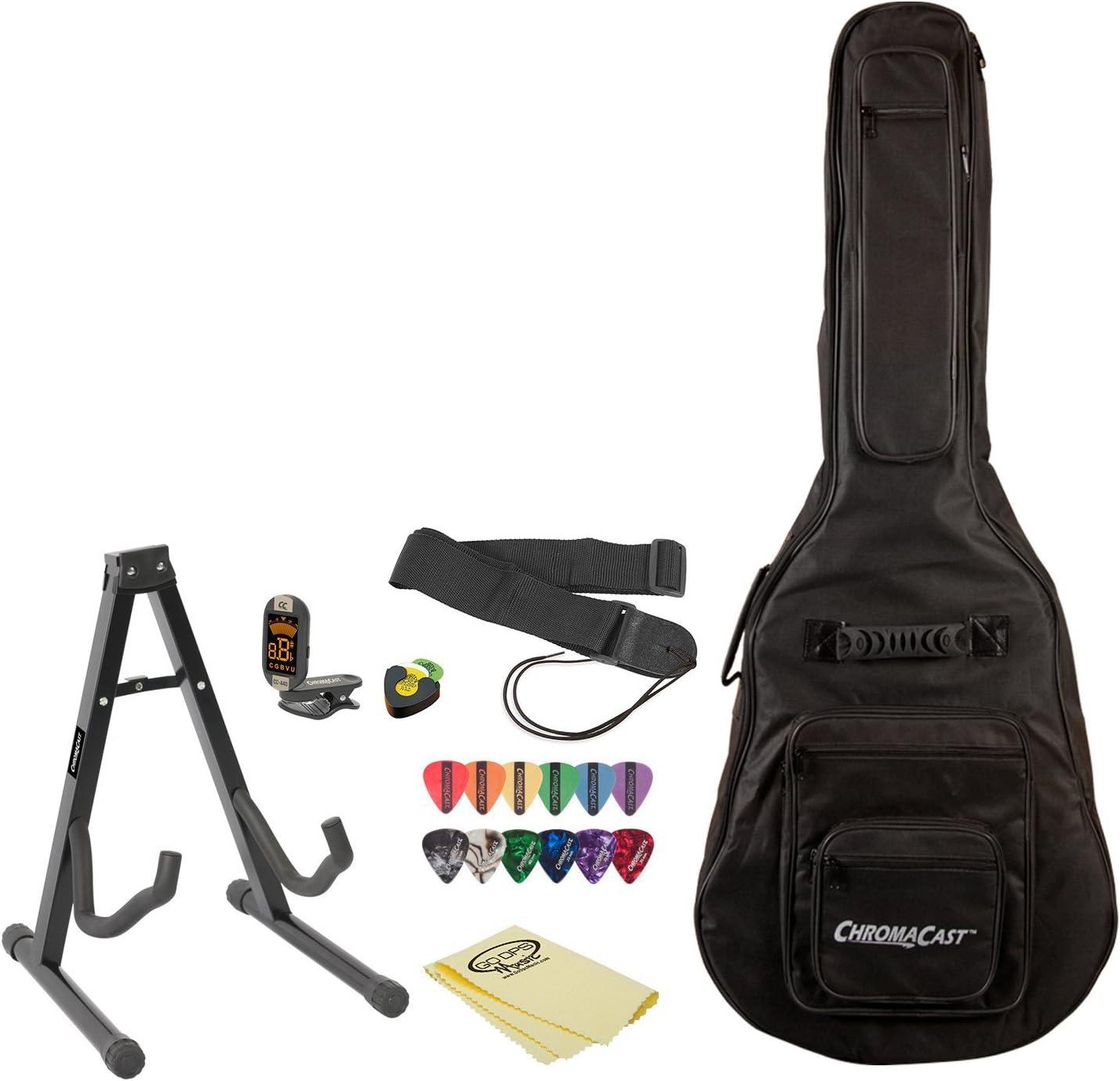 Set de accesorios para guitarra acústica con púa soporte ...