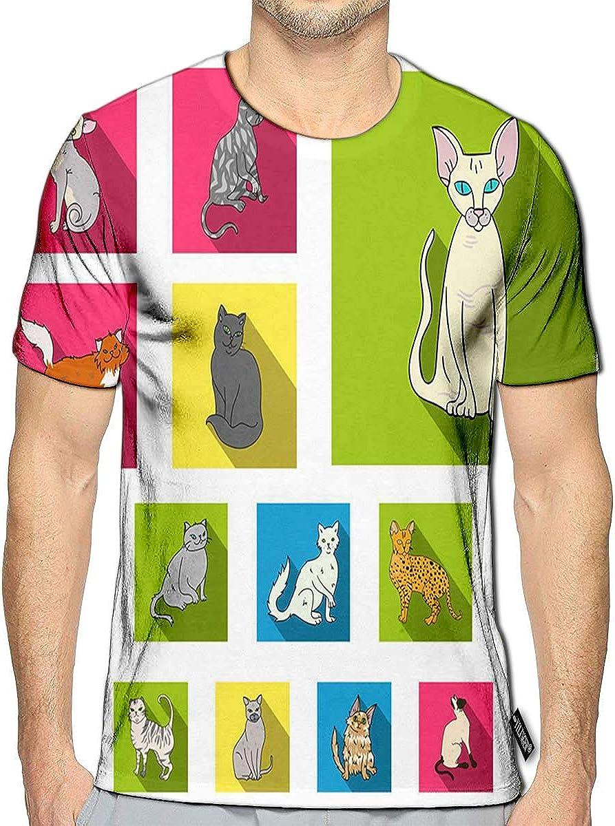 BlountDecor Classic T-Shirt,Cheery Cartoon Style Fashion Personality Customization