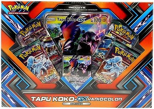 PoKéMoN - Caja colección Shiny tapu Koko-gx - sinopsis y Precio ...