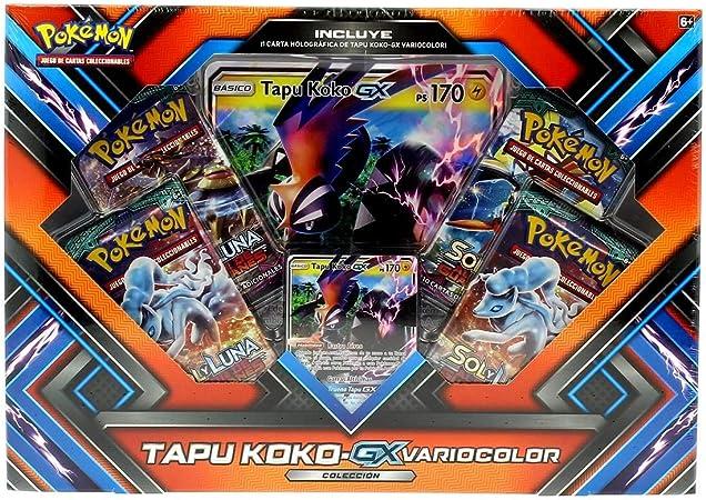 PoKéMoN - Caja colección Shiny tapu Koko-gx - sinopsis y Precio: Amazon.es: Juguetes y juegos