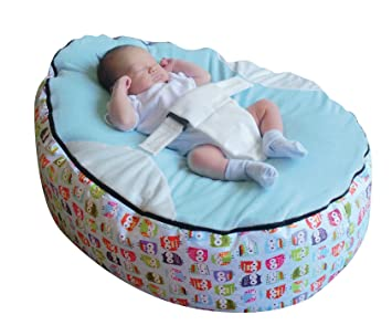 Admirable Amazon Com Mama Baba Baby Bean Bag With Adjustable Safety Bralicious Painted Fabric Chair Ideas Braliciousco