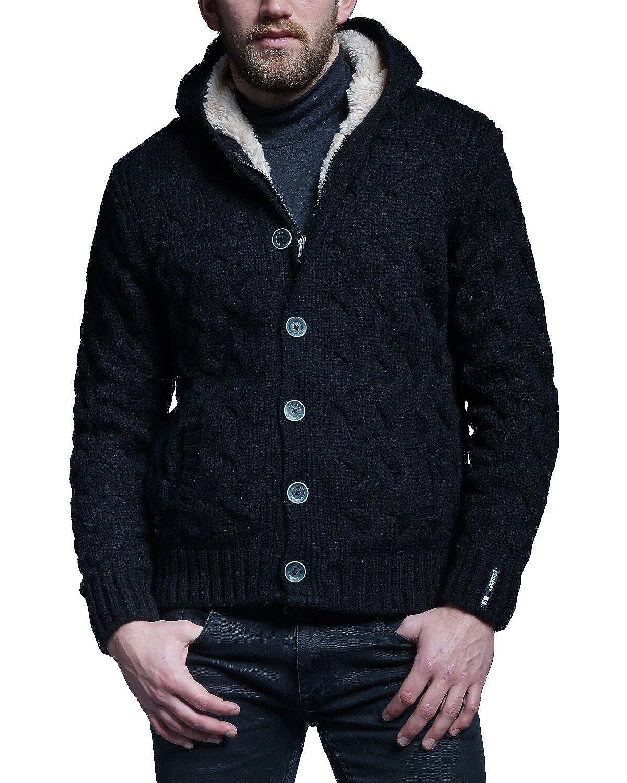 Bradley Men's Cardigan black black One Size