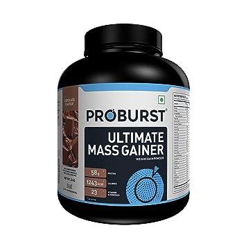 Amazon.com: proburst Ultimate Mass Gainer sabor chocolate ...