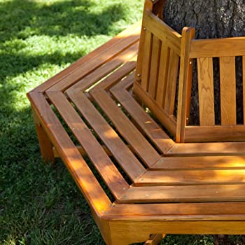 Coral Coast Fillmore Outdoor Tree Bench