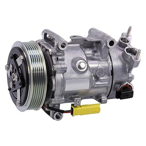 1 x climática Compresor Compresor Aire Acondicionado sanden sd6 C12,