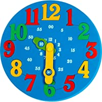 Little Genius Learning ToySet For 3-6 Years Toddlers - Time Learning Clock