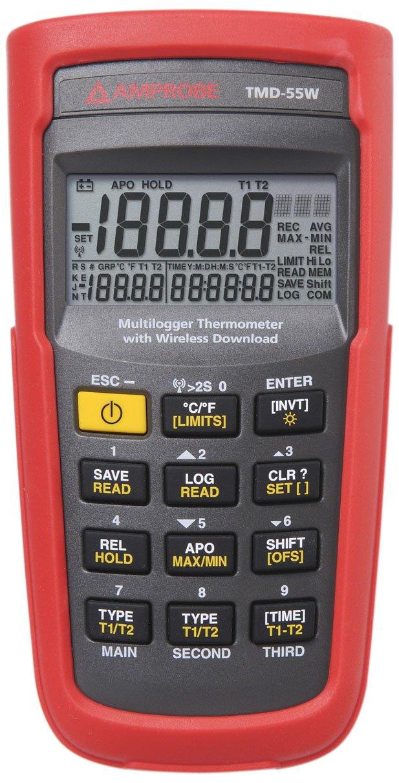Amprobe TMD-55W Wireless Thermometer