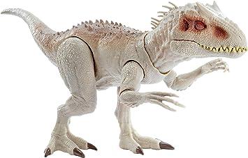Oferta amazon: Jurassic World - Dino Rivals Indominus Rex, dinosaurio de juguete para niños +4 años (Mattel GNH35), Embalaje sostenible