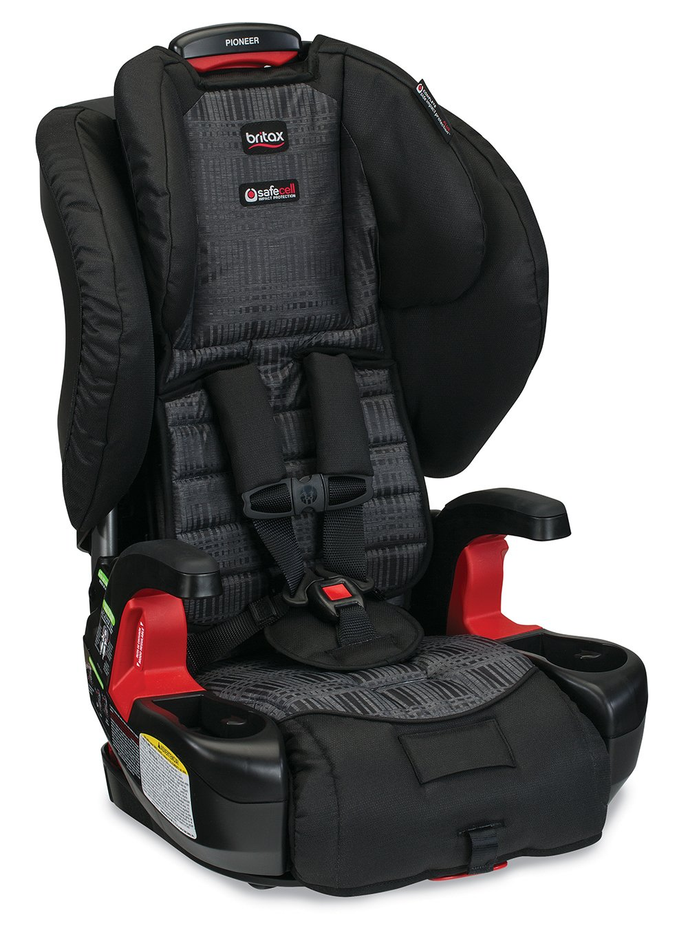 Britax Pioneer Combination Harness-2-Booster Car Seat, Domino E9LZ66C