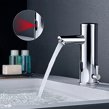 BONADE Infrarot IR Sensor Wasserhahn Bad Armatur Automatik Kalt + ...