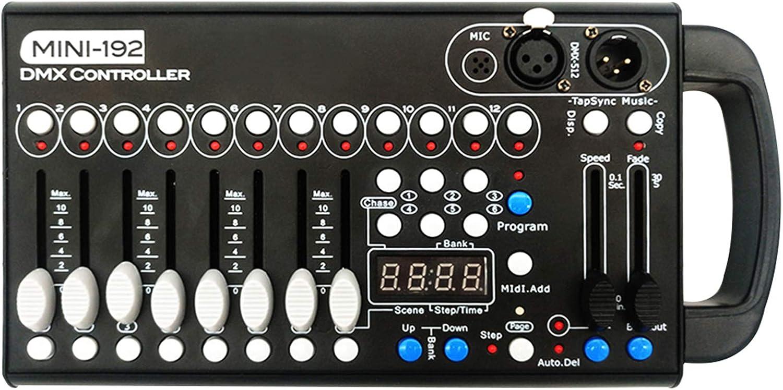 DMX 콘솔 보편적인 DMX512 컨트롤러 192DMX512 단계 DJ LIGHT 컨트롤러 240 다른 장면 DMX512 콘솔 DJ 밴드 바 술집 클럽 가족 결혼식 등
