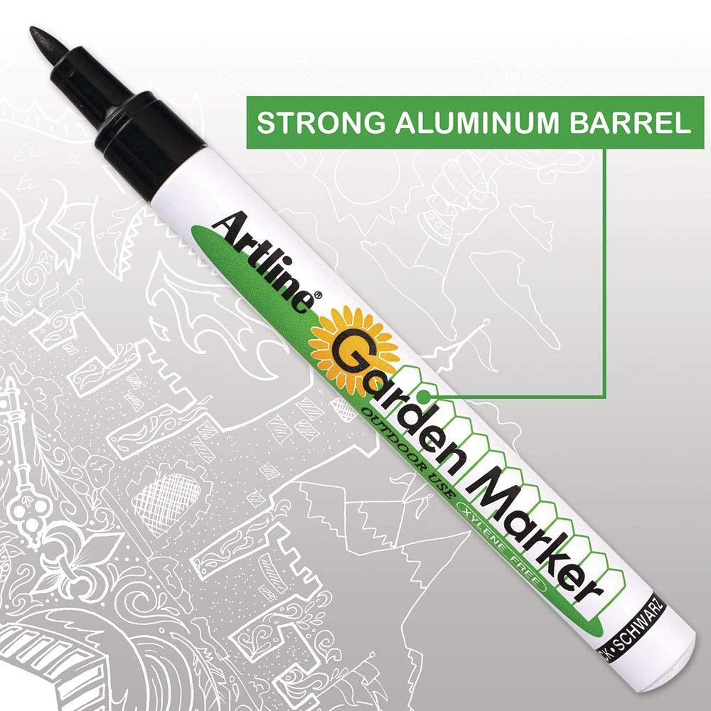 Artline Garden Markers, 0.8 mm Writing Width, Black, 12 Pack (EK-780) by Artline (Image #4)