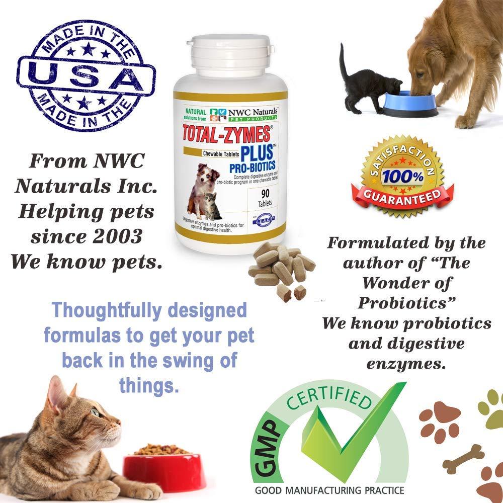 NWC Naturals total de zymes Plus - 90 Pastillas (1 Tablette ...