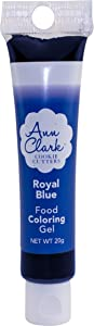 Ann Clark Cookie Cutters Royal Blue Food Coloring Gel, 20g