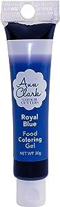 Ann Clark Cookie Cutters Royal Blue Food Coloring Gel, 20g