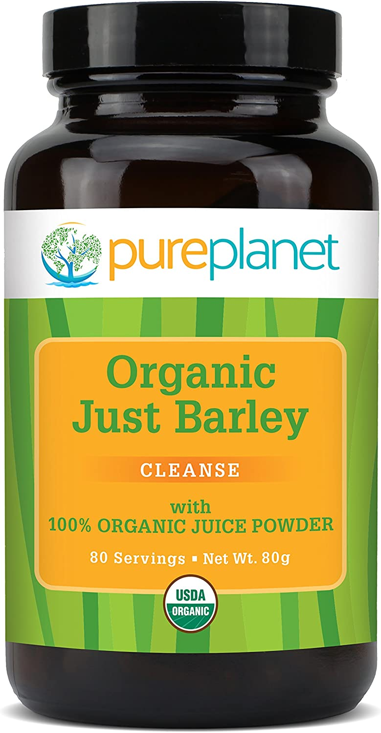 Pure Planet Just Barley Nature s Organic Nutrition Support – 2.8 Oz
