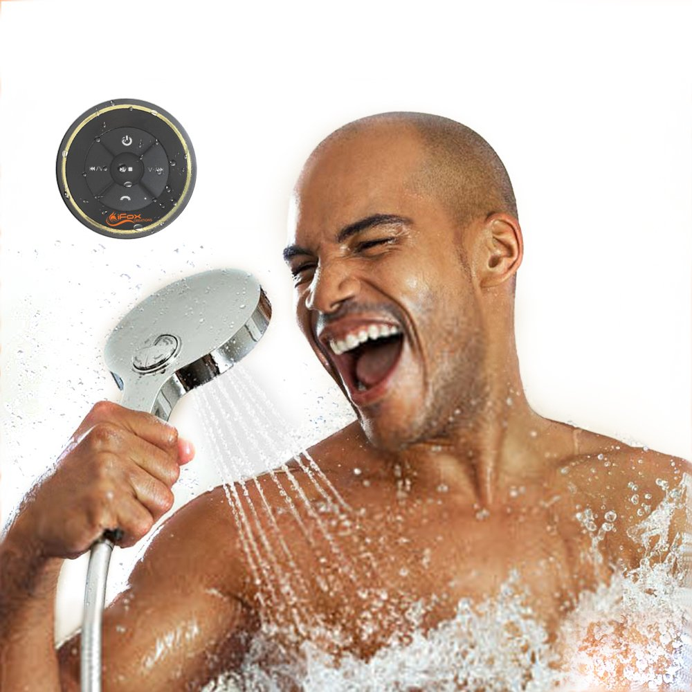 iFox iF012 Bluetooth Shower Speaker - Certified Waterproof - Wireless It Pairs Easily To All Your Bluetooth Devices - Phones, Tablets, Computer, Radio by ifoxcreations (Image #6)