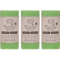 Biodegradable & Compostable Bin Bag Liners 12L (3 Rolls)