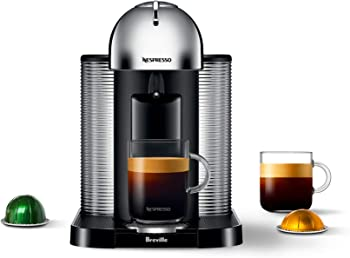 Breville Retro-Modern Design And Vertuo Capsules Commercial Espresso Machine