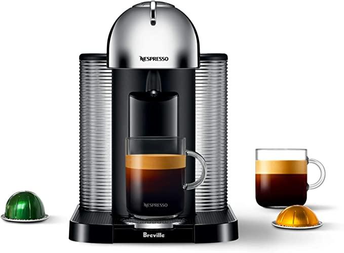Amazon.com: Breville-Nespresso USA BNV220CRO1BUC1 Vertuo Coffee and Espresso Machine, normal, Chrome: Kitchen & Dining